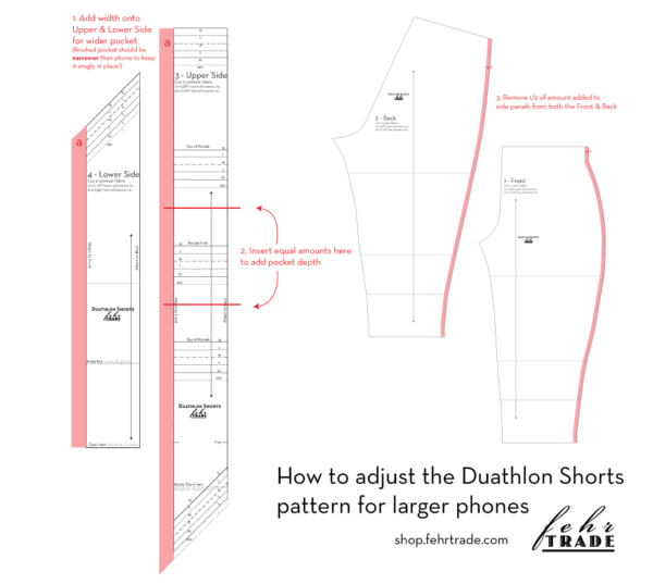 Duathlon Shorts - bigger pockets