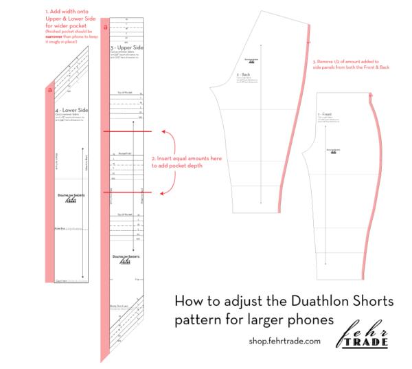 Duathlon Shorts - bigger pockets
