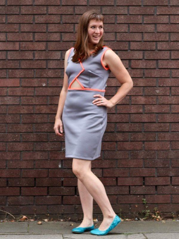 Triple Triangle dress