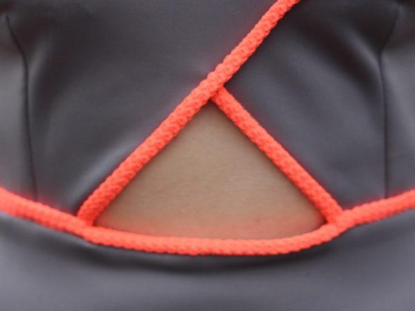 Triple Triangle dress - cutout detail