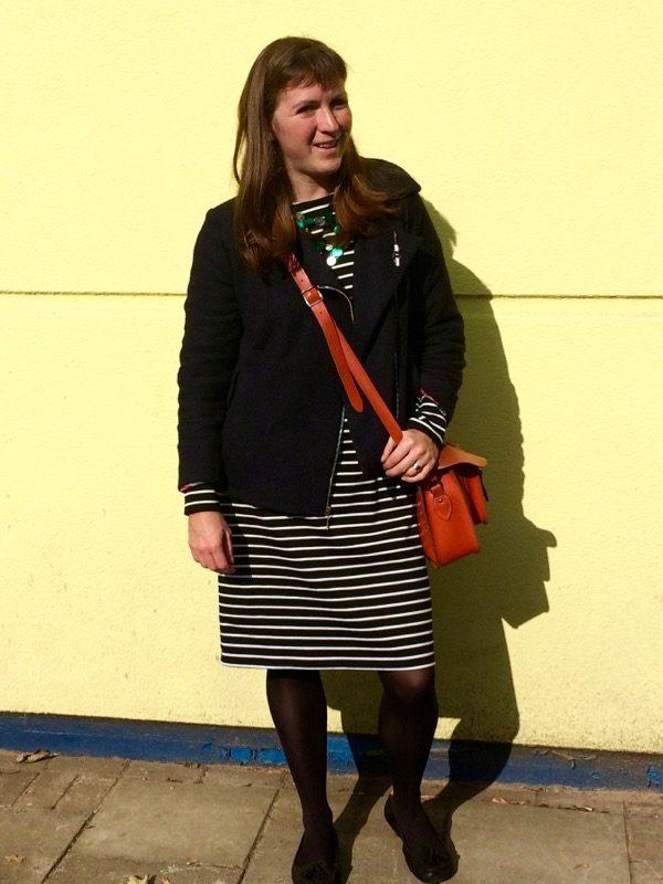 Breton dress - how I wore it