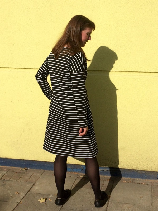 Breton dress - mostly back