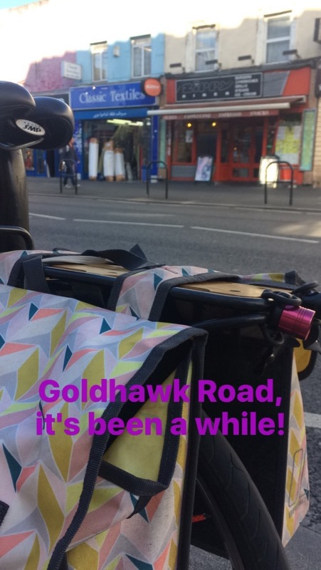 Goldhawk Road - bike