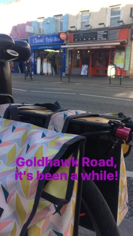 Goldhawk Road - bike