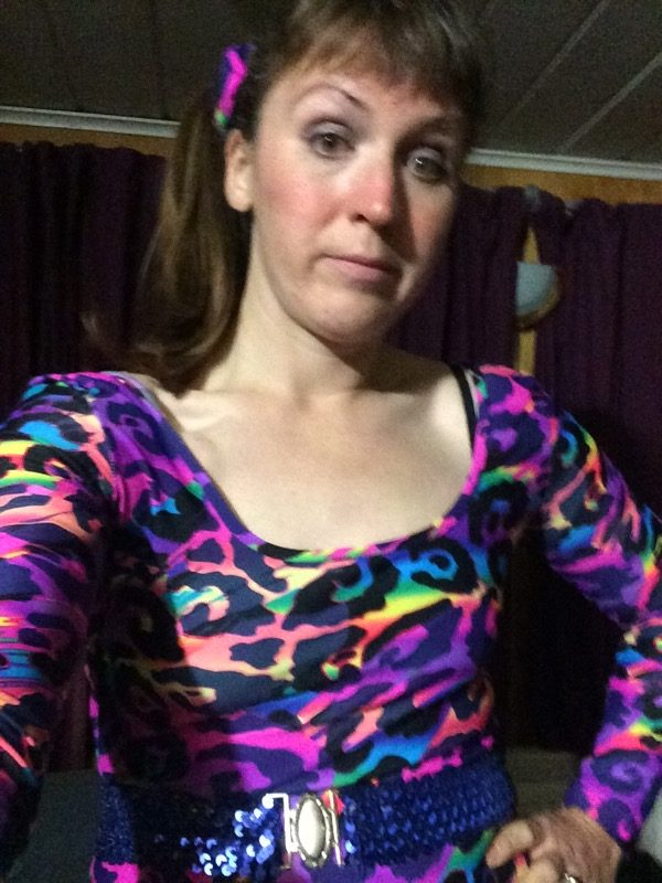 jazzercise - post party selfie