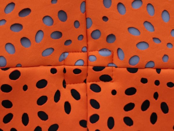 sewdots jacket - fabric detail