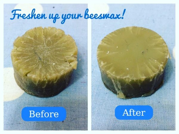 Beeswax tip