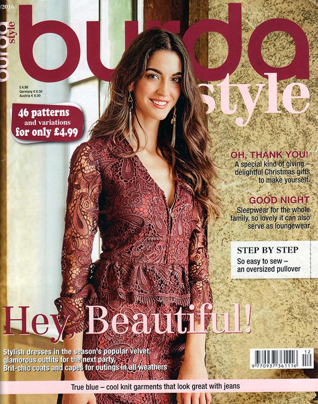 Burda Magazine December 2016 Fehrtrade