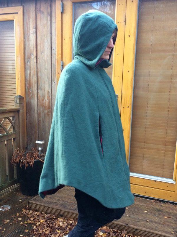 cape - hood up side
