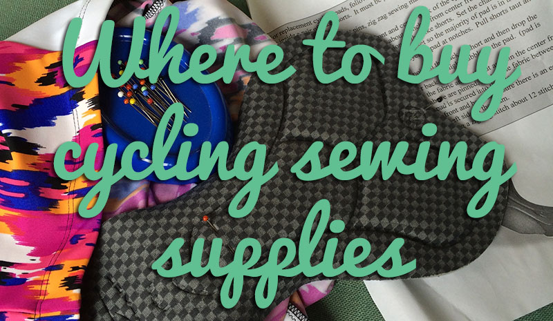 Where to buy cycling sewing supplies