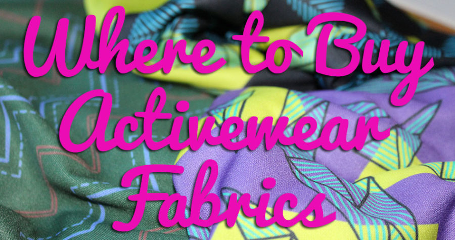 Where to buy activewear fabrics