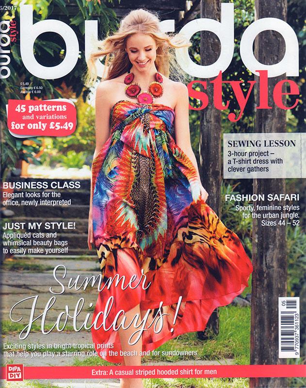 Burda Magazine May 2017  U2013 Fehrtrade