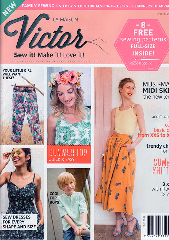 La Maison Victor – their first English-language magazine!! – FehrTrade