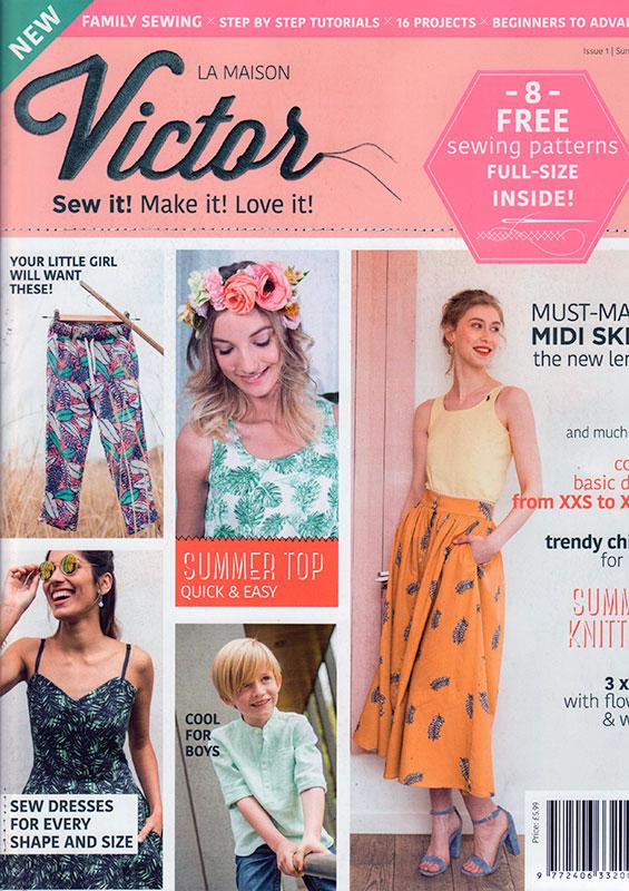 La maison victor their first english language magazine for Magazine maison