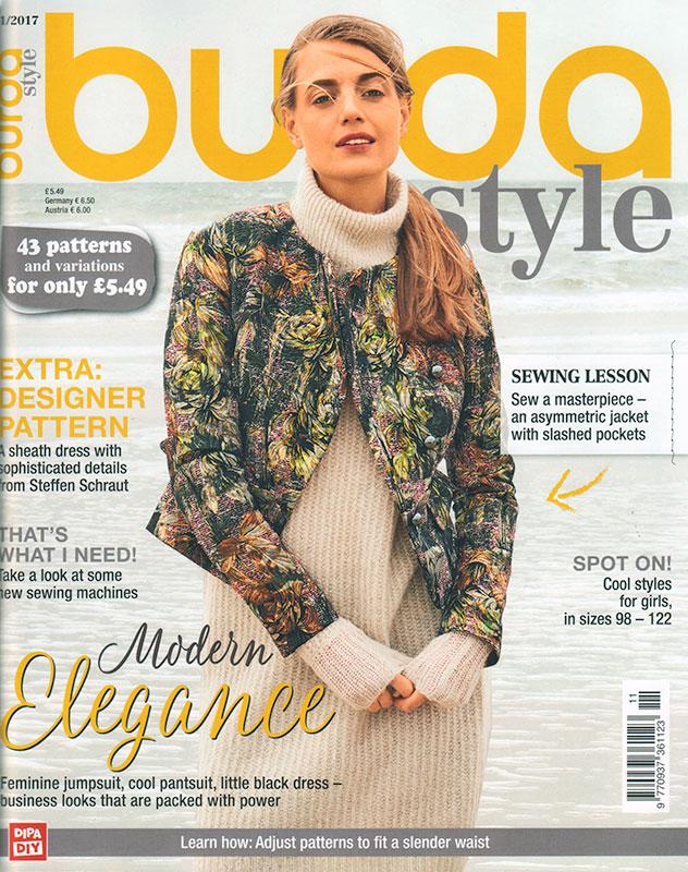 Burda Magazine November 2017 Fehrtrade