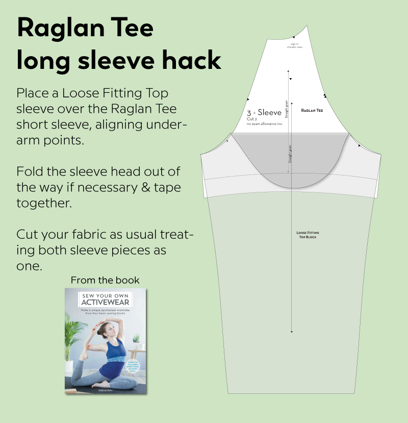 Raglan Tee long sleeve hack illustration