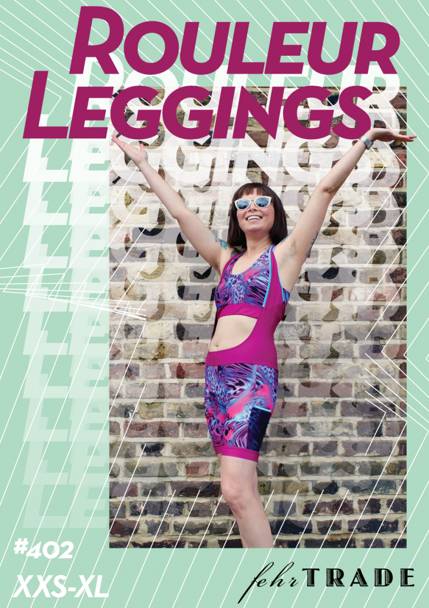 Rouleur Leggings pattern front cover