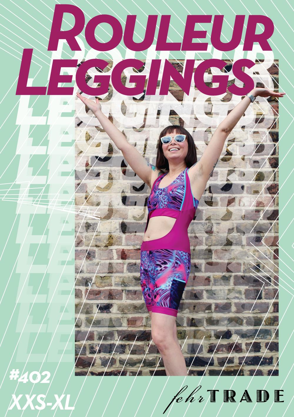 Rouleur Leggings pattern front cover